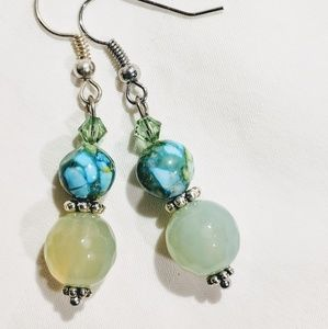 Jewelry - Handmade earrings with Swarovski crystals